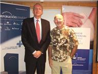 Manuel Rodríguez y el cirujano francés Guy Foucher