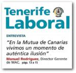 Recorte de la Revista Tenerife Laboral