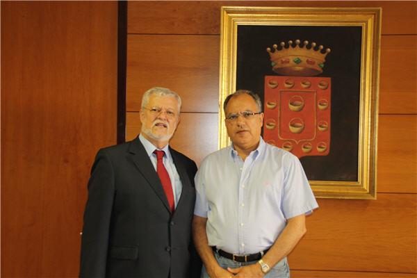 Octavio Calderín y Casimiro Curbelo