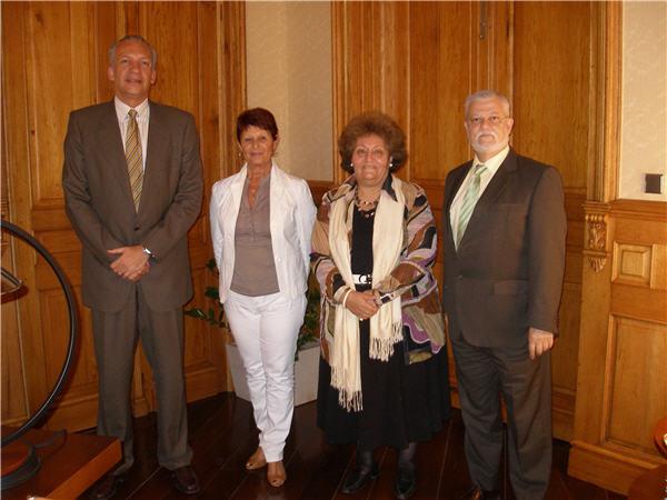 Manuel Rodríguez, Octavio Calderín y Asoc. Mujeres Empresarias de Santa Cruz