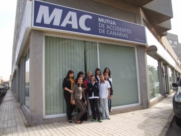 Personal del centro de Lanzarote
