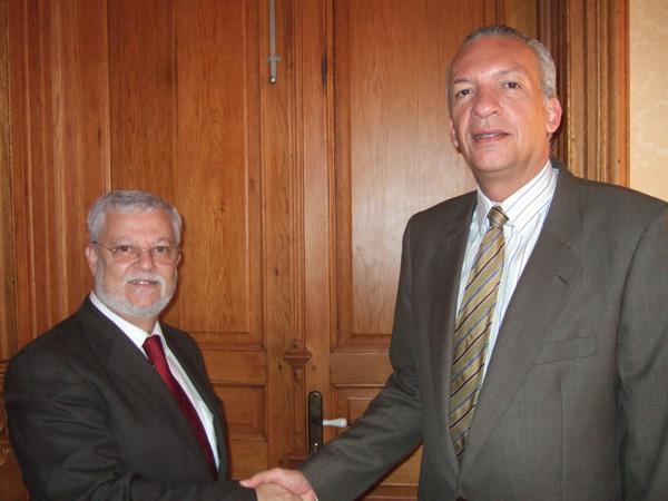 Octavio Calderín y Manuel Rodríguez
