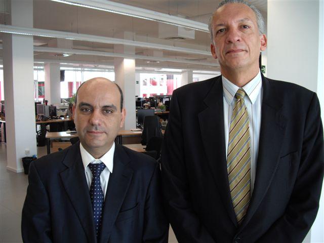 Francisco Suárez, director de Canarias 7, y Manuel Rodríguez