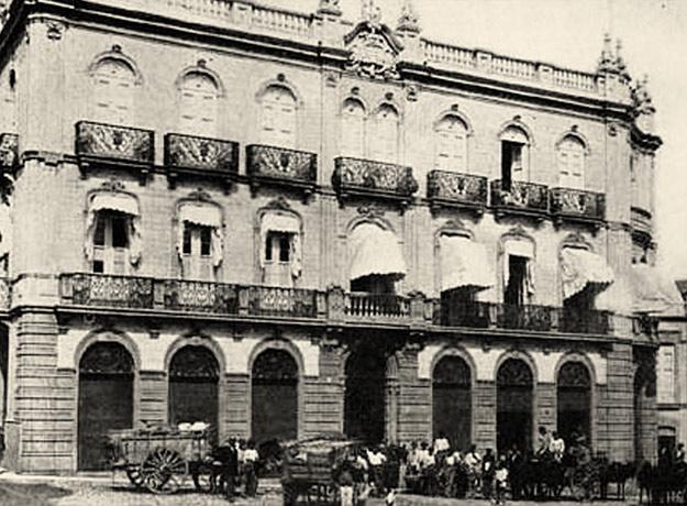 Imagen de archivo antigua del Edificio Elder, sede de MAC en Santa Cruz de Tenerife