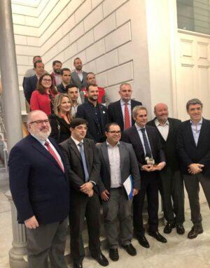 Imagen De La Entrega Premio Alberto Guanche 2020