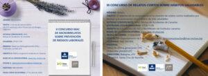 Composición De Imágenes Que Anuncian Los Concursos De Microrrelatos Y Relatos Cortos